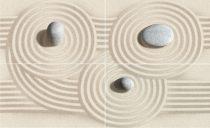 Golden Tile 50x80 Summer Stone Wave dekor 4 db-os szett