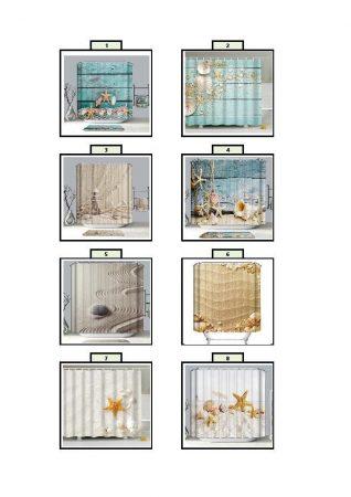 Lagoon textil zuhanyfüggönyök