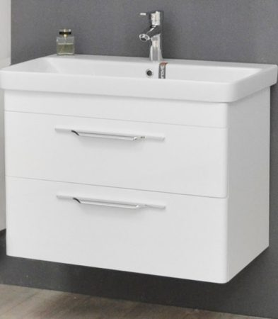TMP Lux fali fürdőszobabútor SANOVIT LUXURI mosdóval