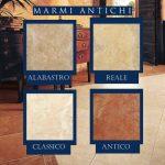 Pastorelli Marmi Antichi burkolatok több színben és méretben