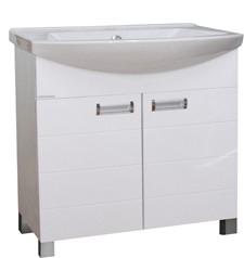 GVG Szquare lábakon álló fürdőszobabútor mosdóval