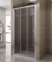 SanSwiss SALIA háromrészes tolóajtó fix üvegelemmel