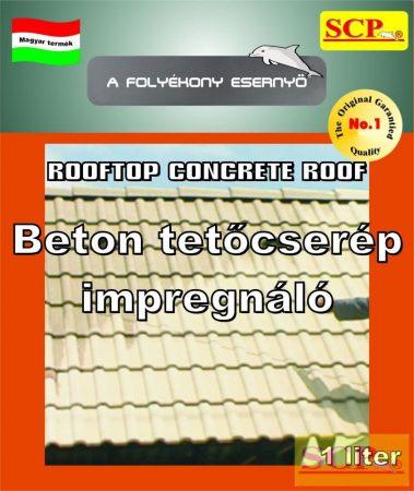 Betoncserépimpregnáló - Rooftop Concrete Roof
