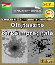 Olajtaszító térkőimpregnáló - Concrete Stone Protector Max