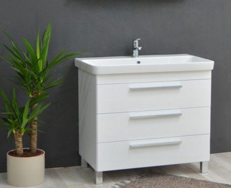 TMP TRIO 80 fiókos fürdőszobabútor SANOVIT LUXURY mosdóval