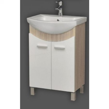 TMP ZX Sonoma fürdőszobabútor Sanovit Zenon mosdóval