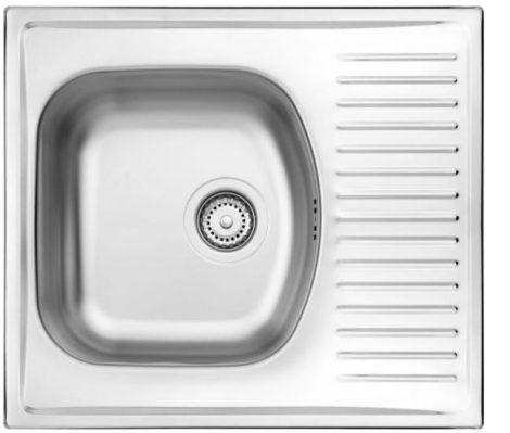 Deante Techno 1 medencés, csepegtetős mosogató