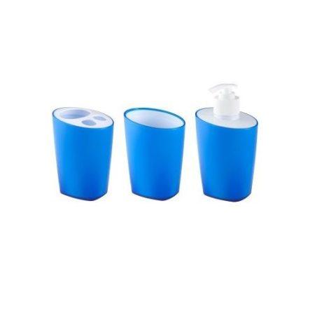 Bisk Art kék színű fürdőszoba szett