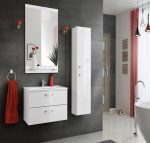 Adel fehér színű 80 cm fürdőszoba bútor összeállítás
