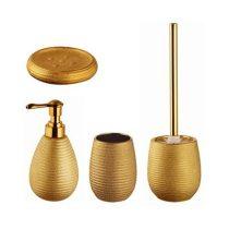 Bisk Gold fürdőszoba szett