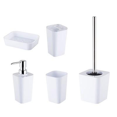 Bisk Simple white fürdőszoba szett