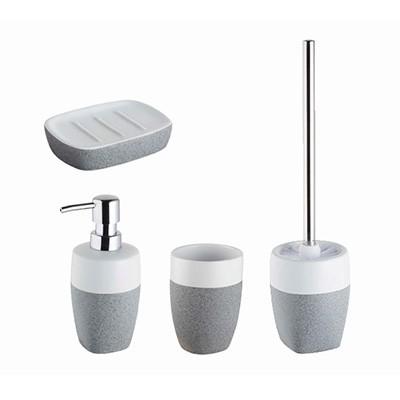 Bisk Stone Grey fürdőszoba szett