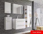 TWIST White Fürdőszobabútor szett